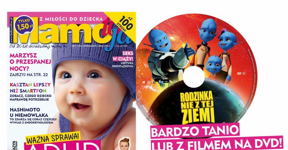 okładka Mamo, To Ja październik 2015