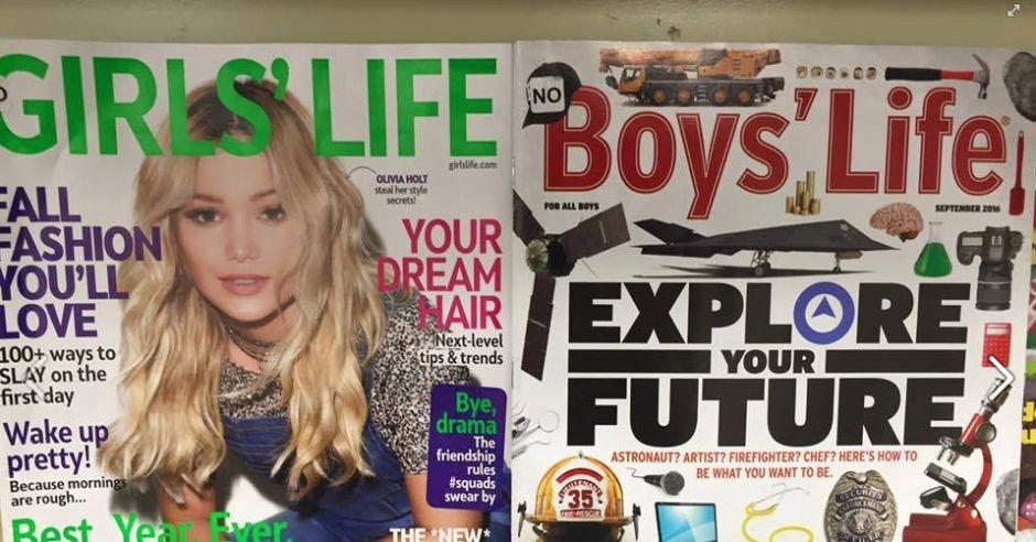 okładki czasopism dla nastolatków