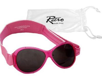 okulary słoneczne dla niemowląt
