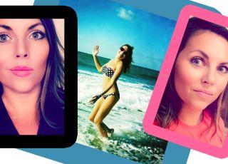 Ola Kwaśniewska w bikini komentuje brzuch Lewandowskiej