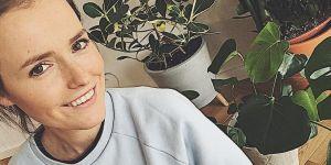 Olga Frycz w ciąży