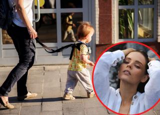 """Olga Kalicka krytykuje chodzenie z dzieckiem na smyczy. """"Czemu ma to służyć?"""""""