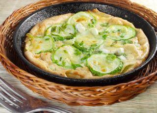 omlet, cukinia, jajka, warzywa