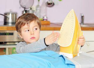 oparzenia, dziecko, pierwsza, pomoc