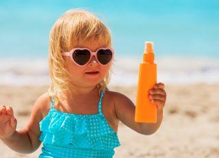 Oparzenia słoneczne u dzieci