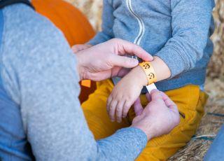 opaski na kleszcze dla dzieci