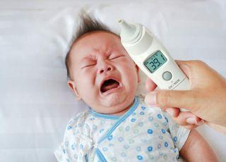 opryszczka u niemowlaka