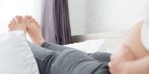 Opuchnięte stopy w ciąży