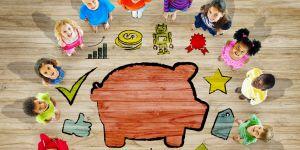 oszczędzanie, kieszonkowe dla dzieci