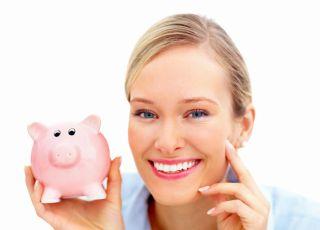 oszczędzanie, pieniądze, świnka skarbonka