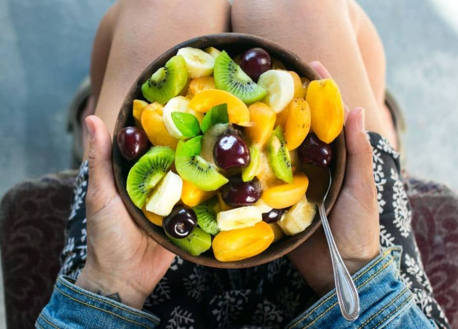 owoce podczas karmienia piersią