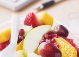 owoce, sałatka, kuchnia