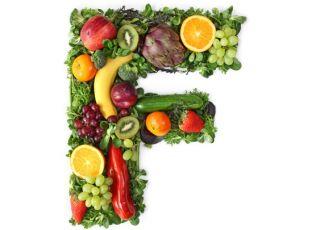 owocowy alfabet - litera f