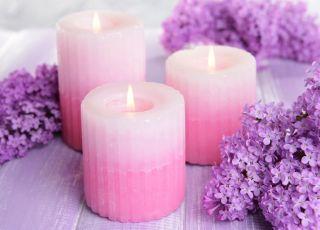 ozdobna świeca