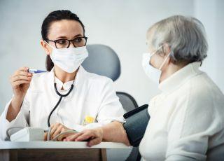 Pacjentka u lekarza