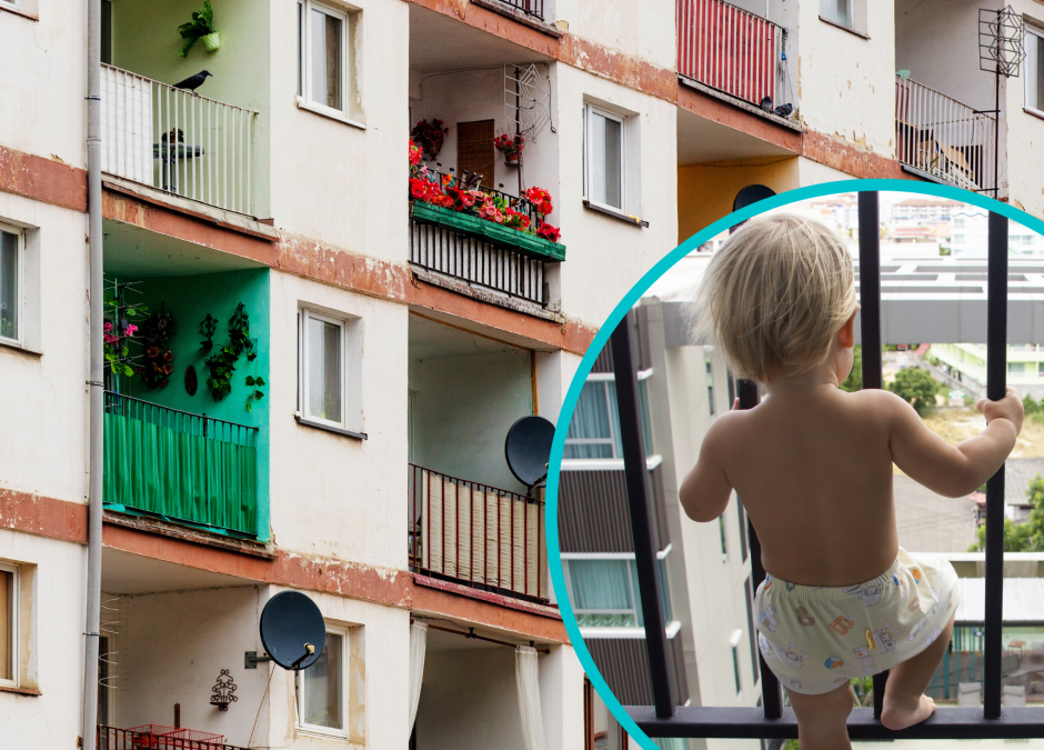 palenie na balkonie przy dziecku