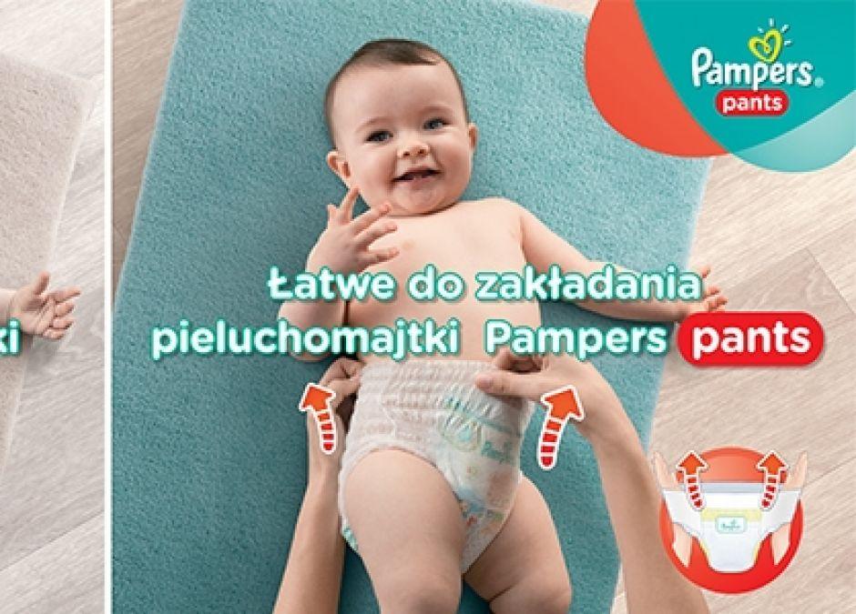 Pampers Pants - testowanie