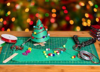 papierowe ozdoby świąteczne