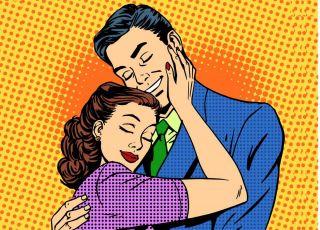 para z długim stażem małżeńskim