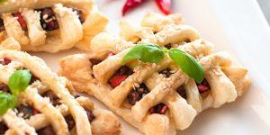 paszteciki, ciasto francuskie, ciasteczka, ciastka