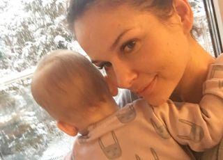 Paulina Sykut-Jeżyna z córką
