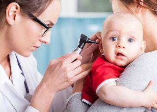 pediatra, lekarz, dziecko, niemowlę