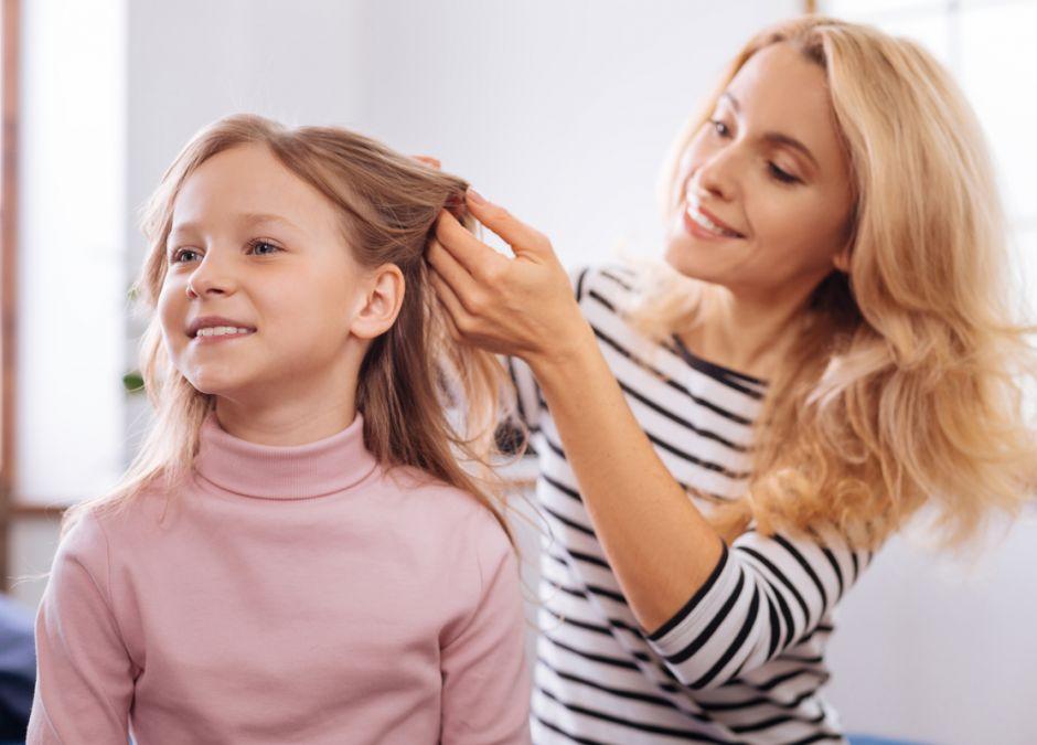 pielęgnacja włosów dziecka