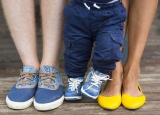 pierwsze buty dziecka do nauki chodzenia