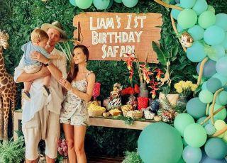 Pierwsze urodziny Liama w stylu Safari