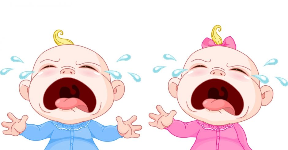 pierwsze łzy u dziecka, płacz niemowlaka