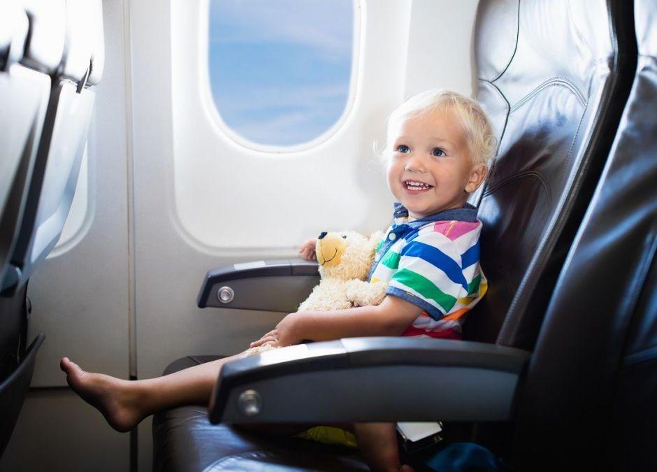 Pierwszy lot samolotem z dzieckiem