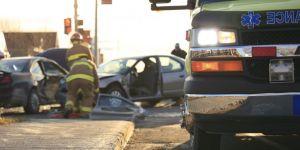 Pijana matka spowodowała wypadek samochodowy