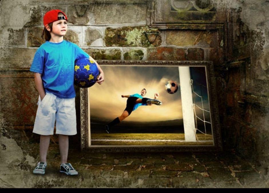 piłkarz, gra w piłke, chłopcy