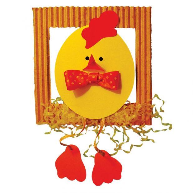 Wielkanocny Kurczaczek Ozdoba Wielkanocna Kurczaczek Na Grzedzie