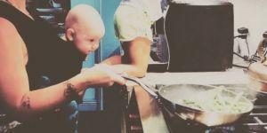 Pink gotuje razem z dziećmi