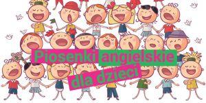 piosenki dla dzieci do nauki angielskiego