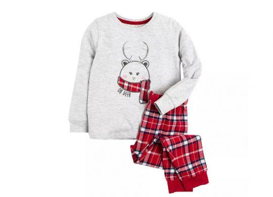 piżama dziewczęca renifer