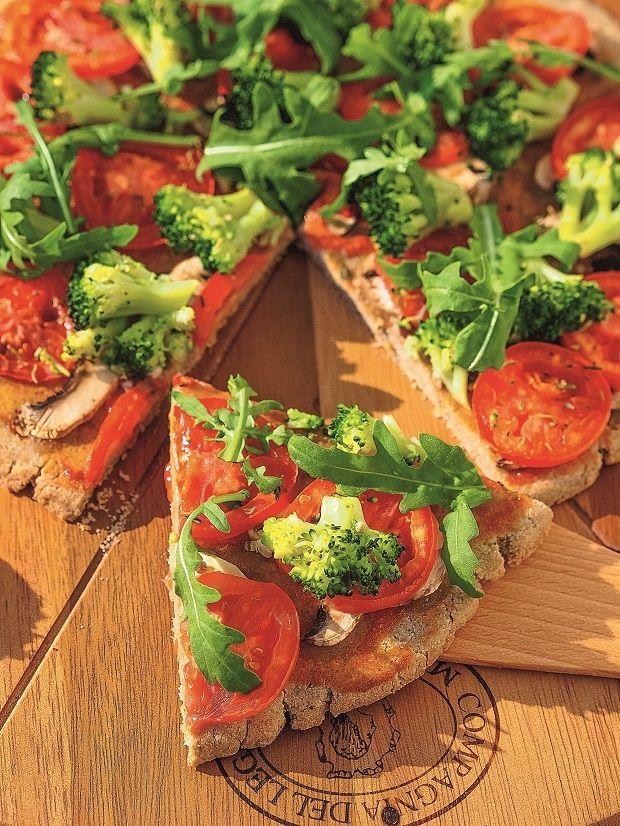 Pizza gryczana bez drożdży - przepis dla alergika