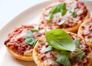pizza, pizzerinki, minipizze