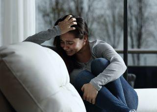 płacz, smutek, smutna kobieta