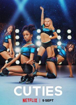 plakat filmu Cuties na Netflix
