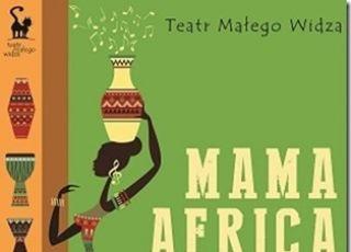 plakat, materiały prasowe, mama afryka