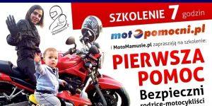 plakat, szkolenie, pierwsza pomoc, motopomocni.pl