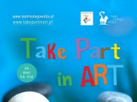 Plakat Take Part in Art
