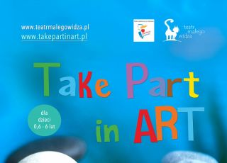 Plakat Take Part in Art