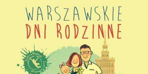 plakat, Warszawskie Dni Rodzinne