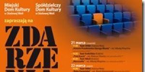 plakat, zdarzenia teatralne, teatr