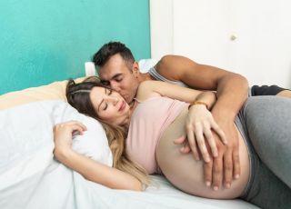 plamienie po stosunku w ciąży