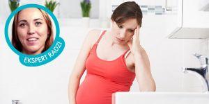 Plamienie w ciąży