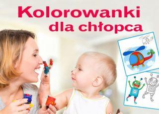 Kolorowanki dla chłopca [DO DRUKU]